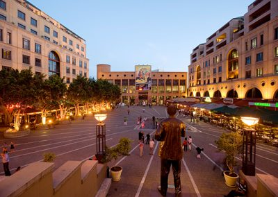Nelson Mandela Square resturants